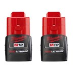 M12 Redlithium 12 Volts Compact Battery 48-11-2411 Milwaukee