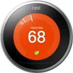 T3008us Nest Labs Learning Thermostat 3rd Gen Stainless Steel Pro Sku