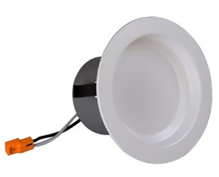 Dcr41061203kwh Nicor 4 Led Downlight 3000k 663lm 8.4w CATNIC,NICOR,LED,TRIM,RECESS,DOWNLIGHT,3000K,DCR,