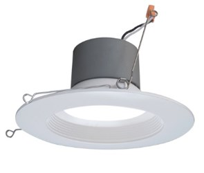 Dcr561081203kwh Nicor 6 Led Downlight 3000k 878lm 10.5w CATNIC,NICOR,LED,TRIM,RECESS,DOWNLIGHT,3000K,DCR,