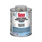 30893 Oatey 16 Oz Pvc Rain-r-shine Blue Cement CAT468O,ORS16,OB16,01842012,HWD16,50038753308932,31857,30893,WD16,UB16,OB16,038753308937