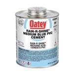 30894 Oatey 32 Oz Pvc Rain-r-shine Blue Cement CAT468O,ORS32,OB32,01843012,HWD32,50038753308949,31858,30894,WD32,CHCGLORS1Q,CHC,038753308944