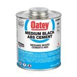 30902 Oatey 32 Oz Abs Medium Black Cement CAT468O,30902,GLUE,038753309026,31803,OA32,OABS32,ABS32