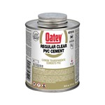 31014 Oatey 16 Oz Pvc Regular Clear Cement CAT468O,O16,50038753310140,31014,0R16,PETE,038753310145