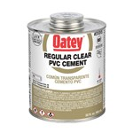 31015 Oatey 32 Oz Pvc Regular Clear Cement CAT468O,O32,50038753310157,31015,PETE,038753310152