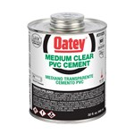 31020 Oatey 32 Oz Pvc Medium Clear Cement CAT468O,OM32,50038753310201,01818012,HM32,31020,038753310206