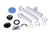 P8227bg Dearborn W & O Full Kit White Plastic Tubular Uni-lif Chr Zinc Bagged CAT170,P8227BG,041193103932,8227,P8227