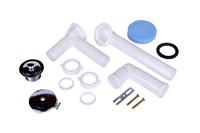 P8227d Dearborn W & O Full Kit White Plastic Tubular Uni-lift Chro Direct Dr CAT170,P8227D,041193026712