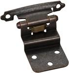 P5922dbac Hr Hinges 3/8 Inset Bronze Pair W/ Screws