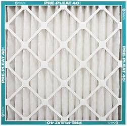 18x18x2 D-w-o 40% Pre-pleated Filter CATD364PRE,CATD364PRE,