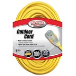 Pro-power 100 12 Ga Extension Cord CAT504,100EC,100 H.D. CORD,EC100,EXTENSION CORD,2589,