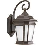 P5686-108 D-w-o 1-26w Gu24 Wall Lantern