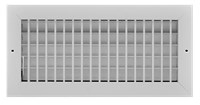 R1vm 20 X 8 Reliable Sidewall Grille W/damper (grswd208) CAT353,GRSWD208,