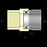 1/2 Cpvc Ss Trns Fem Adpt (tfs-0500 Nl) CAT463NF,4135-005SS,054211102169,MFGR VENDOR: SPEARS,PRCH VENDOR: SPEARS,VFAD,TFS0500,TFS-0500,4135-005SS,4135005SS,TFS-0500,VFAD,PRCH VENDOR: SUNBELT,STD4703ST12,KBITFS0500,