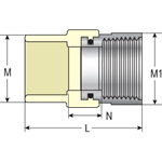3/4 Cpvc Ss Trns Fem Adpt (tfs-0750 Nl) CAT463NF,4135-007SS,054211102305,VFAF,TFS0750,TFS-0750,TFS-0750,VFAF,PRCH VENDOR: SUNBELT,STD4703ST34,KBITFS0750,