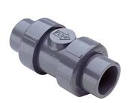 1-1/2 Cpvc Tu2k Ind Ball Ck Soc/thd Epdm CATD220PVC,4529-015C,054211385517,CATDEV05,D220PVC,