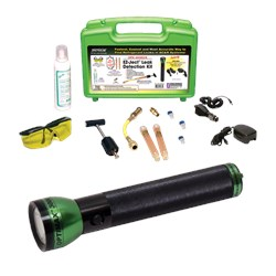 Opk-300ez/e Complete Kit With Opx-3000 Optimax 3000 Cordless, Rechargeable Leak Detection Flashlight With Smart Charger And 12v Dc Charger, Ez-ject A/ CAT380SP,