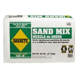 Sacrete Bag Of Concrete And Sand Mix CAT250CON,CSM,