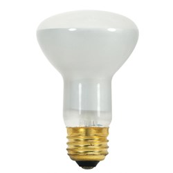 S3849 Satco R20 Incandescent 330 Lumens E26 Medium Base Frosted Light Bulb CAT766,S3849,045923038495,D50R20,I50L,R20