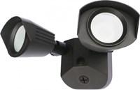 65-218 Satco Bronze 20 Watts 4000k Led Dual Head Security Light CAT766,65218,045923680410