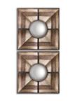 Utt07685 D-w-o 19x19 Euthalia Squares Set/2 CATDUTT,CATDUTT,