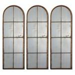 13463 D-w-o Amiel Arch Metal 17x50 Mirror CATDUTT,13463,CATDUTT,