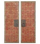 35002 D-w-o Red Door Panels S/2 Or CATDUTT,35002,CATDUTT,