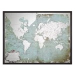 30400 Uttermost Mirrored World Map
