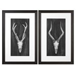 33648 Uttermost Rustic European Mounts Prints S/2