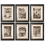 33430 Uttermost Paris Scene Framed Art Set/6