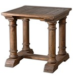 24341 D-w-o Saturia End Table W 28in H 28in D 28in