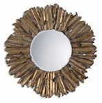 12742 B Uttermost Hemani Antique Gold Mirror