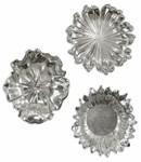 8503 D-w-o Uttermost 12 X 12 X 3 Silver Flower Wall Decor CATUTT,08503,PRCH VENDOR: UTTMOST,792977085035