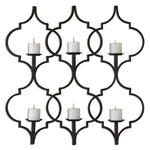 13998 D-w-o Uttermost Zakaria Metal Candle Wall Sconce 35.5 X 35.625 CATOUTT,13998,792977139981