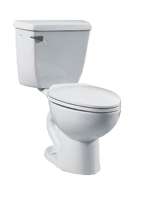Vitra 5050 003 0101 Vitra Atlantis White 1 6 Gpf 10 In Round Floor Mount Toilet Bowl
