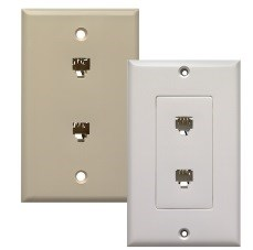 309703 Beige Dual Flush Jack CATD759,309703,CATDEV50,CATDEV50,CATDEV99,CATDEV99,D759,