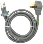8171385rc 4 Range Conducts 40 Amp And Is A 3-wire Power Cord (replaces 8171385ra) This Cord Measures 6ft And Is Gray