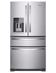 Whirlpool 36 French Door Refrigerator 25 Cu Ft Fingerprint Resistant Stainless Steel CAT302W,883049445533