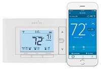 1f87u-42wf Wr 2 Heat/2 Cool Conventional, 4 Heat/2 Cool Heat Pump Non-programmable Thermostat CAT330WR,WIFI,786710553981