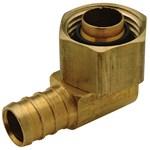 Qqe33bsgx Xl Brass Swivel Elbow-1/2 In Barb X 1/2 In Fpt Swivel Cone Connection CAT470PEX,QQE33BSX,0-84169-48443-7,ZURQQE33BSX,ZURN PEX GREEN,green,Lead Free,84269026723