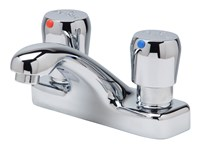 Z86500-xl 4 In Centerset, Deck-mount, Temperature Control, Metering Faucet (lead Free)