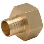 Qqufc66dzx D-w-o Xl Brass Female (non Swivel) Pipe Thread Adapter - 1-1/4 Barb X 1-1/4 Fpt CATD470,84169012548,DO470,084169012548