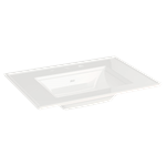 0298.008.020 As White Town Square S Vanity Top 8ctr White