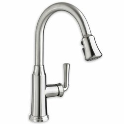 4285.300.075 American Standard Portsmouth Stainless Steel Pvd Lead Free 1 Hole 1 Handle Kitchen Faucet Pull-out Spray CAT117L,4285300075,4285300075,012611525186