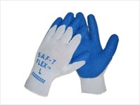 2107l Saf-t-glove Latex Dipped String Knit Cotton Glove CAT250GL,107L,GLOVE,