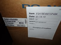 1014245f Frigidaire 4 Ton 15 Seer 208/230 Volts Single Stage Heat Pump Not Factory Fresh Packaging Status L CATD313R,663132350490,FSH1BE,FT4BE,
