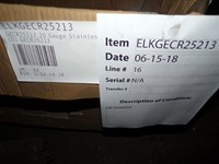Gecr25213 20 Gauge Stainless Steel 25x21.25x5.375 Single Bowl Top Mount Kitchen Sink Scratch And Dent Status M CATD140C,GECR25213,NNNN:GECR25213,