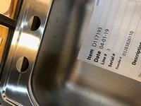 D-11719-3 Ss Bar Sink 17x19x61/8 3h Dayton Scratch And Dent Status M CATD141,94902008424