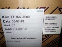 Ch36a34000 Aspen 3 Ton Cased/horizontal Evaporator Coil Scratch And Dent Status M CATD313A,CH36,AC36,SC36,CH36A34-000,