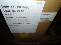 Ch60b34000 Aspen 5 Ton Cased/horizontal Evaporator Coil Scratch And Dent Status M CATD313A,